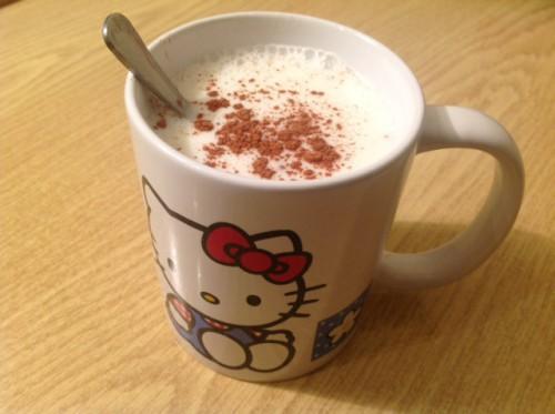 Fehér csokis salep