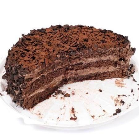 Csupa csokis torta