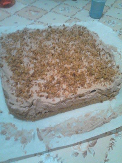 Nutellás torta
