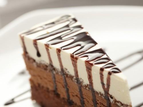 Sütés nélküli túros-csokis torta