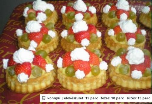 Gyümölcskosárkák