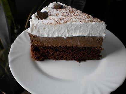 Francia csokoládétorta