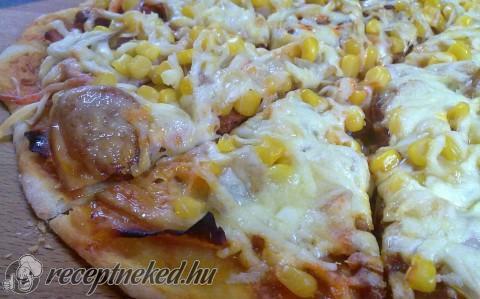 Gyors bögrés pizza recept