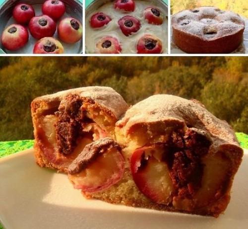 Töltött almatorta