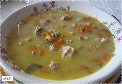 Agyvelő leves káposztalével