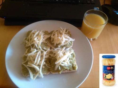 Brokkolis-bambuszrügyes-fokhagymás szendvicskrém