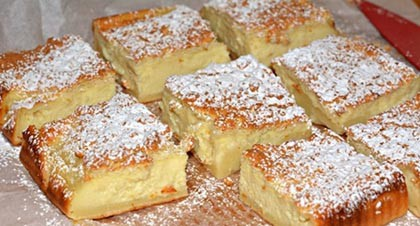 Varázslatos vanília sodó süti