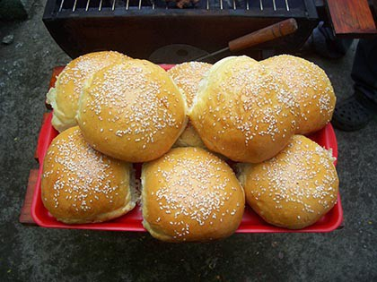 Hamburger buci