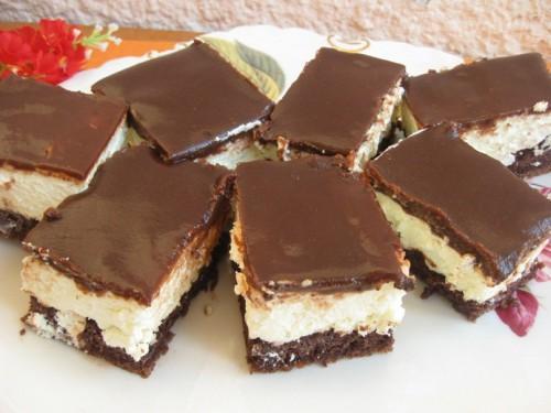 Kókuszos csokoládészelet sütés nélkül
