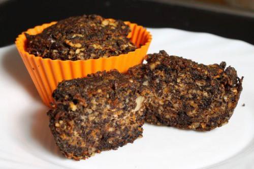 Muffin mákos-diós