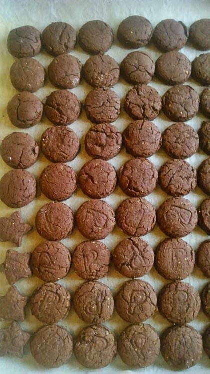 Csokis keksz (GM)