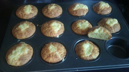Pihe-puha sajtos muffin