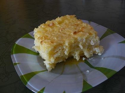 Habkönnyű rizsfelfújt