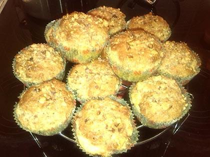 Mandulás muffin citromkrémmel töltve gm