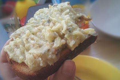 Cukkini szendvicskrém (vagy köret)