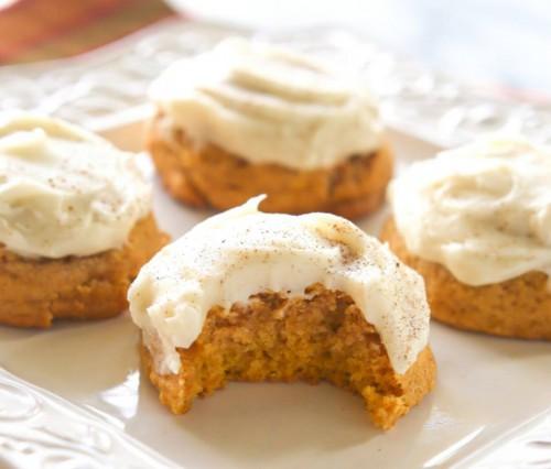 Őszi szájban olvadós sütőtök keksz