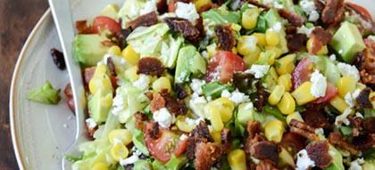 Csirkés avokádós saláta