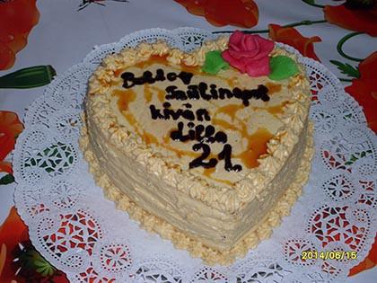 Vienetta torta, karamellás-csokis