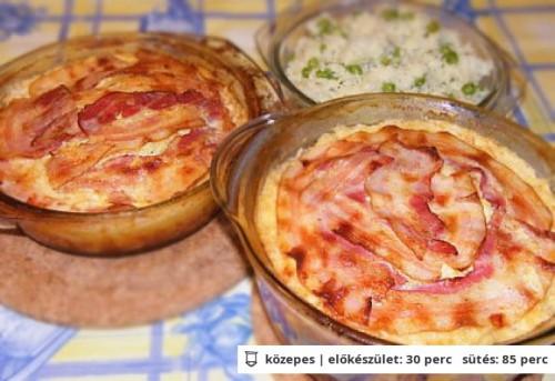 Baconos-sajtos csirke recept
