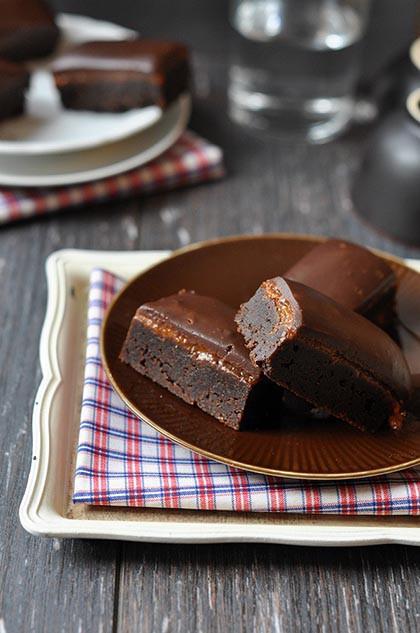 Dupla csokis szeletek