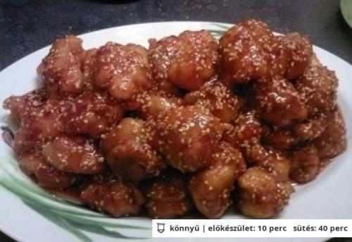 Kínai szezámmagos csirke recept