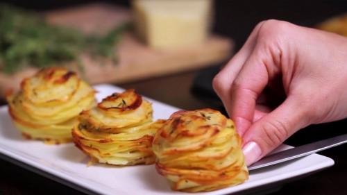 Muffintálcás sültkrumpli