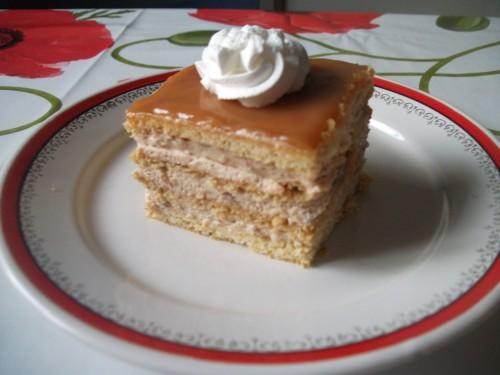 Karamell krémes süti
