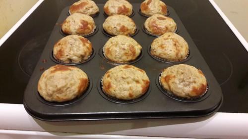 Diétás mogyoróvajas muffin