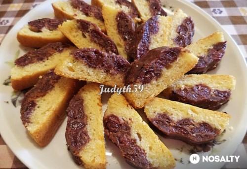 Meggyes-diós borított süti recept