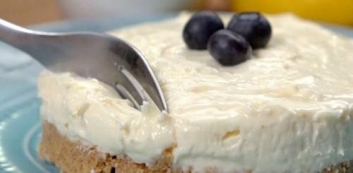 5 perces túrótorta cukor, liszt és sütés nélkül