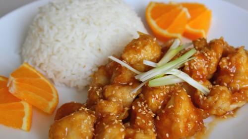 Narancsos kínai csirke