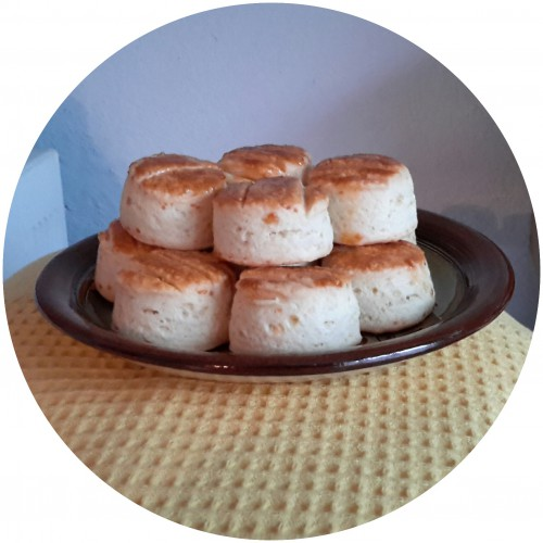 Kovászos sajtos pogácsa/ Mező Éva receptje alapján