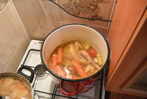 Finom vasárnapi csirke leves