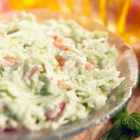 Coleslaw saláta recept