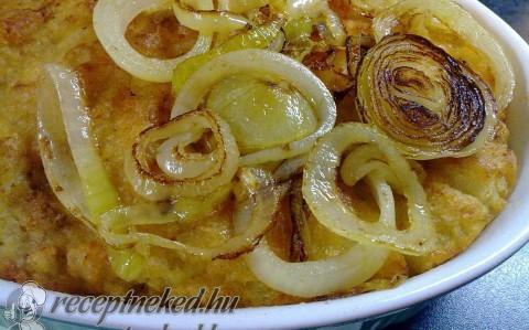 Sült krumplikása