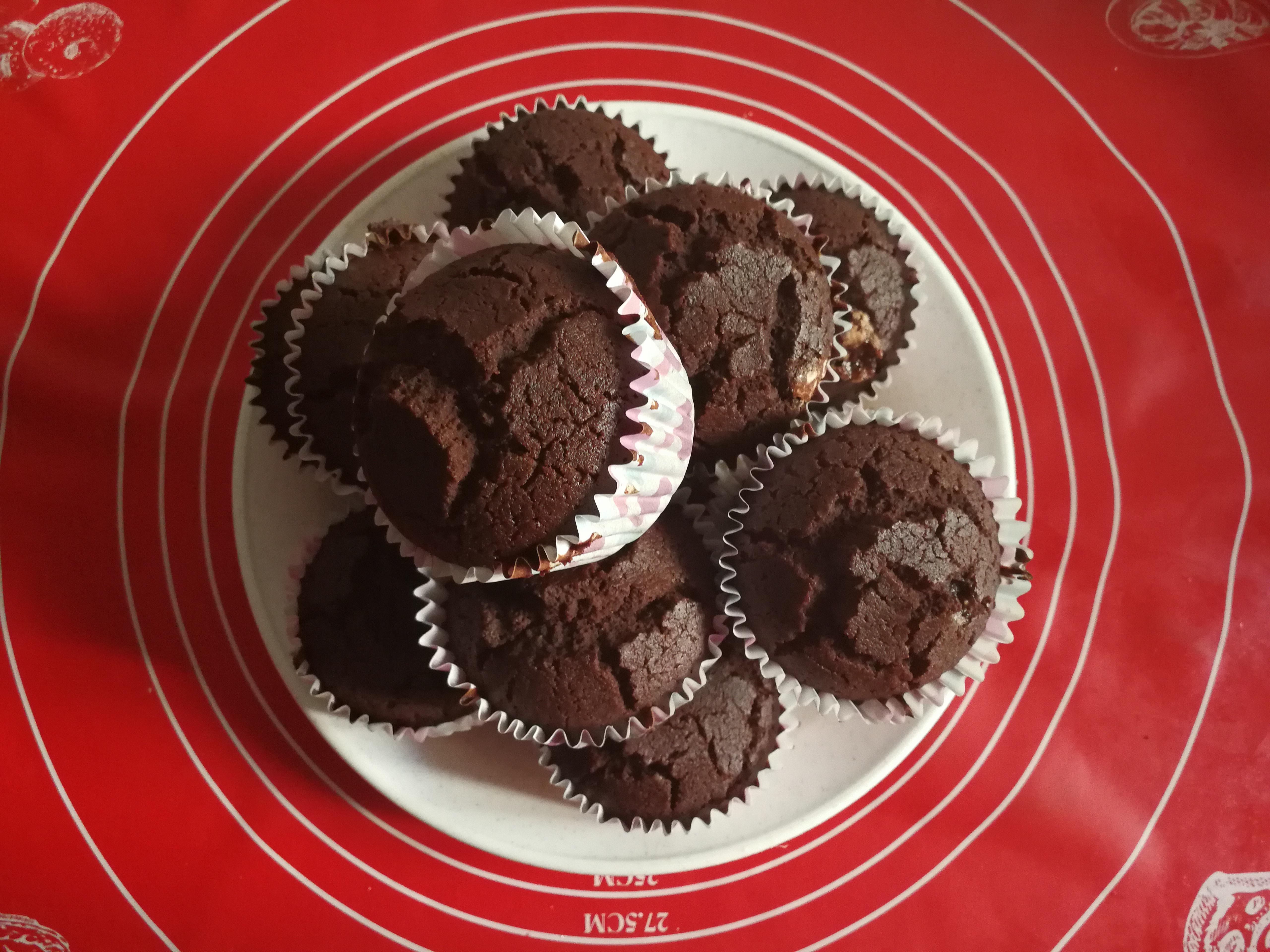 Rizslisztes/Kukorica lisztes muffin