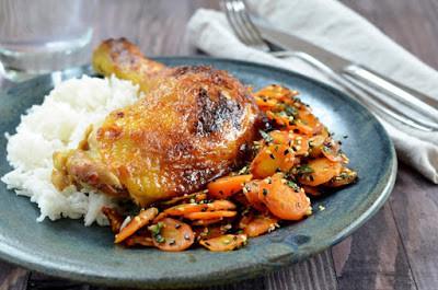Gyömbéres-mustáros csirke