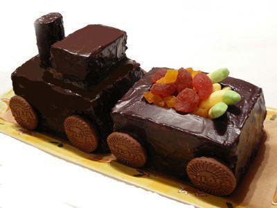 Vonat torta recept