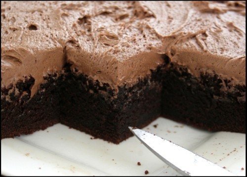 Csokoládéhabos piskóta