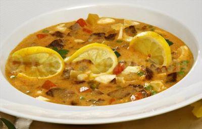 Pikáns leves (Bella Itália étlapjáról)