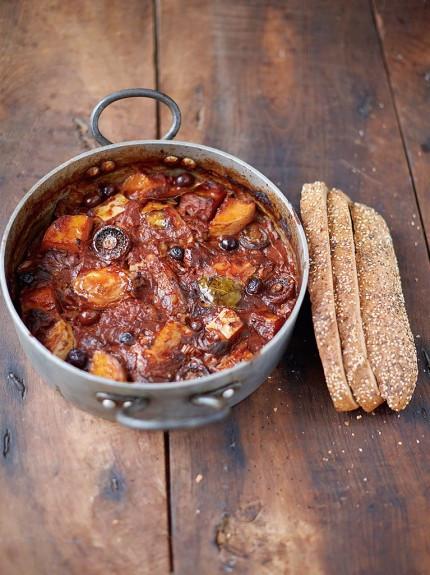Csirkés Édesburgonyás Cacciatore / Jamie Oliver