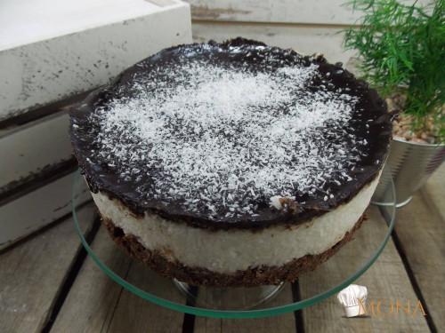 Bounty torta (glutén,tej,tojás,cukor,szójamentes)