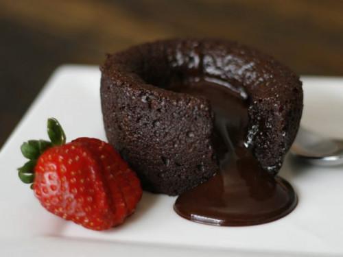 Csokoládészuflé