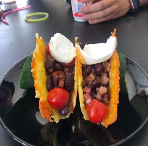 Ketogén Taco