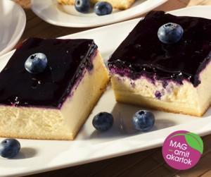Zabpelyhes-gyümölcsös sajt torta