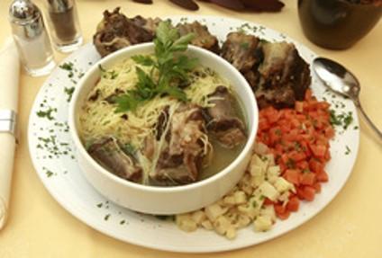 Ököruszály leves kelbimbóval