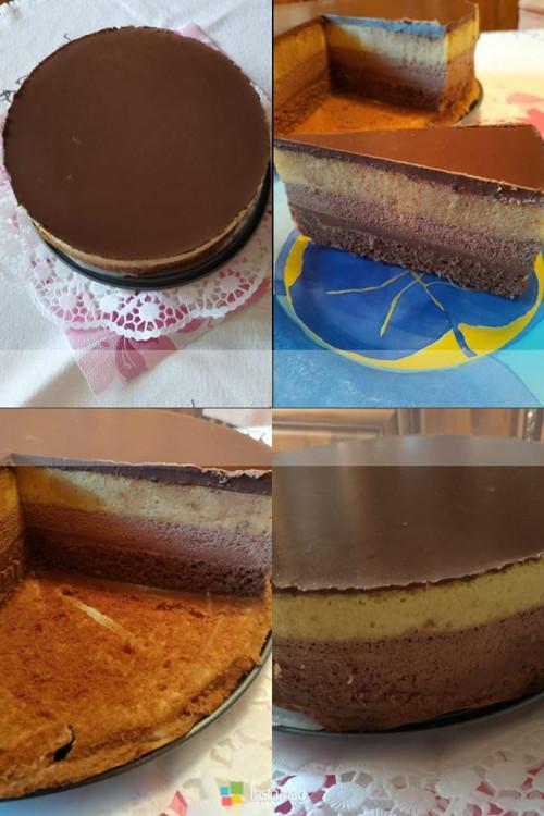 Étcsokis -Mangó Mousse Torta
