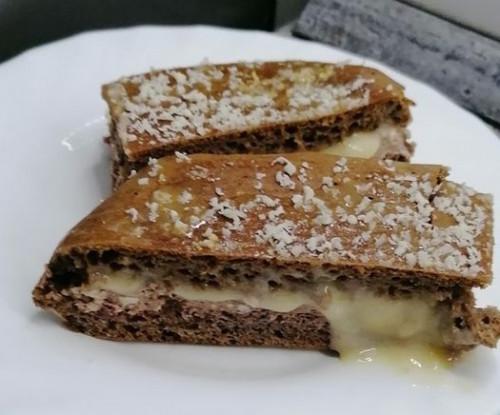 Meggyes-karamellás Dia-Wellness torta