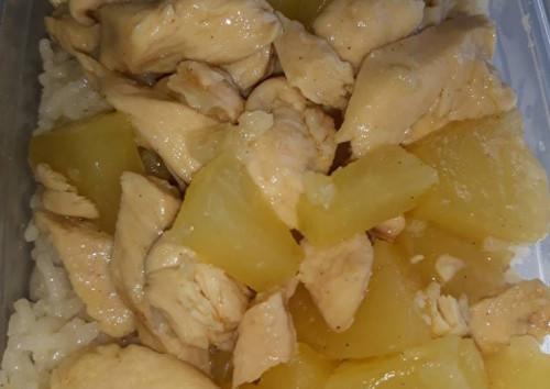 Ananászos csirkemell